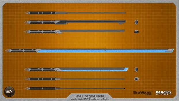 Forge Blade by JKnight3135 - wallpaper by rex3cutor