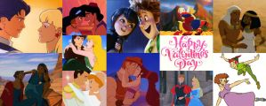 Valentines Day Animated Couples 2015 by montey4