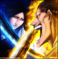 Battle Kenpachi by Aleks-Gold