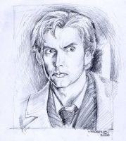 The Tenth Doctor by napalmnacey