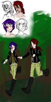 Happy Hunger Games--Colby and Timothy Sketches by LoftwingRider