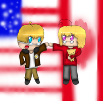 AT with SenseiMac: America and Canada by Hallerpl