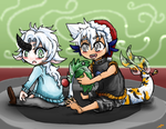 Castel and Lyhn Christmas by ay4u