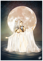 Alesdaviell The White Moon. by Vicky-Pandora