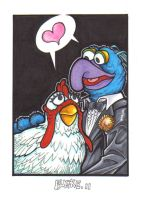 Gonzo and Cammila by Burke73