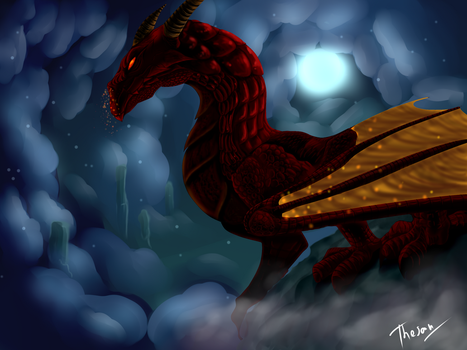 Red Dragon by ThesanArt