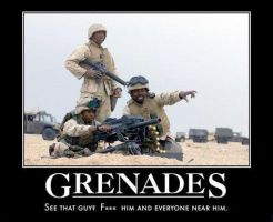GRENADES by MalevolentDeath