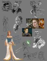 Inquisitor Sketch dump by S00SHEE