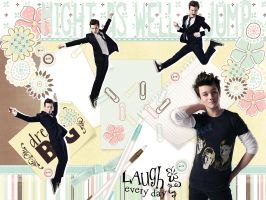 Chris Colfer wallpaper by lady-alucard