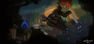 Big Foot Trundle by DiceNwn