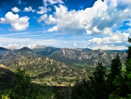 Colorado Mountains HDR by Nico894