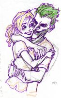 the cutest couple in Arkham by Magzdilla