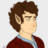 bilbo baggins by kneelmortals
