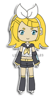 Chibi Rin Kagamine by lily-adoptables