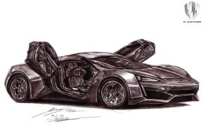 The THIRD Most Expensive Car in the World by toyonda