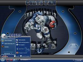indianapolis colts by graffitimaster