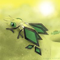 The Dragonfly Pokemon by princess-phoenix