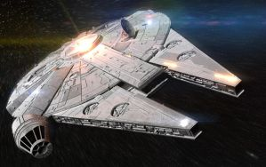 Millennium Falcon by RegusMartin