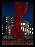 spiderman collab by megallicor
