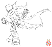 Kaito Shadow sketch (COLOR ME!) by shadowhatesomochao