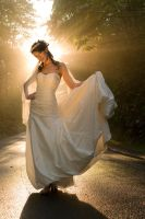 Bridal portrait by christileigh