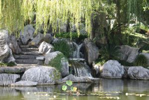 Chinese gardens 121 by fa-stock