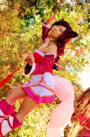 Ahri LOL Tsukino-Con cosplay preview! by Mission108
