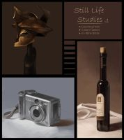 Still Life Sketches v1 by MeliHitchcock