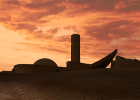 15March2010 Mars city by GhosTic353