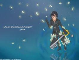 Xion-who am i?... by Animequeen111