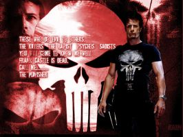 The Punisher Wallpaper by InvisibleRainArt