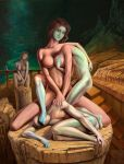 Oedipus twins complex -surreal optical illusion by JUST-inART