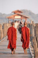 Myanmar monks by Osiris81