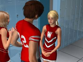 Scene from Cheerleaders by areg5