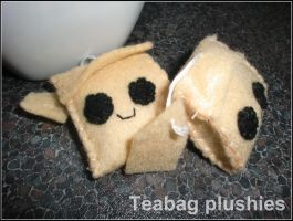 Teabag plushies by Tammyyy