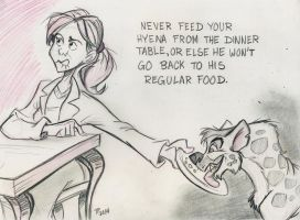Tip for Hyena Owners. by Snipetracker