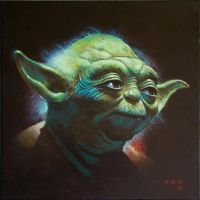Yoda by iconicafineart