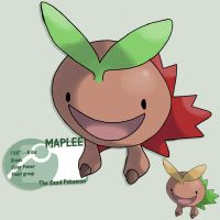 Canadian leaf by G-FauxPokemon