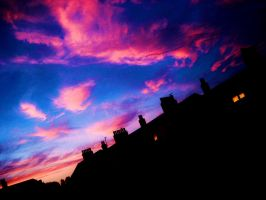 pink clouds xD by mihi2008