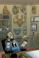 Atomic Robo vol.3 iss.2 page 4 by Lawnz
