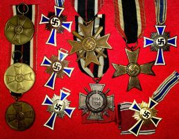 My German Medals by Strnm