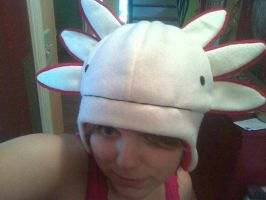 Axolotl Hat by CaptainRei