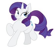 'Lady Rarity' by Mamandil