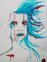 Blue in the face by Jugglingwithfire
