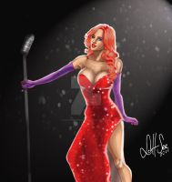 Jade Bryce as Jessica Rabbit by scottssketches