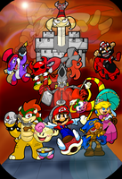 Super Mario RPG by Piranhartist