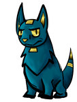 Random Anubis dog by LittleWolf14-10