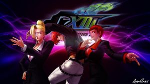 KOF XIII: Yagami Team by AioriAndrei