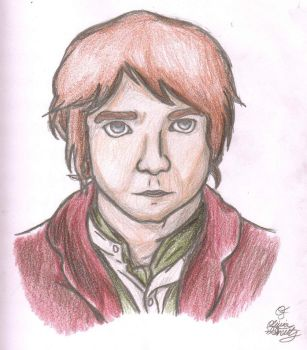 Bilbo Baggins by AnimePortraits