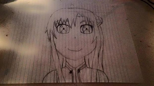 SAO Asuna Drawing by redandsymmetry